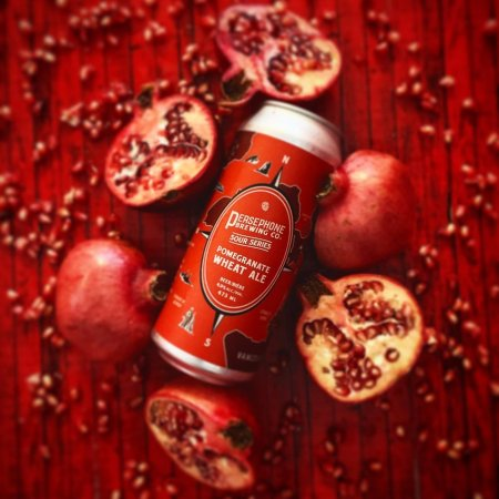Persephone Brewing Sour Series Continues with Pomegranate Wheat Ale