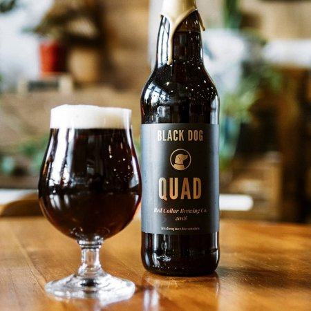 Red Collar Brewing Releasing 2018 Vintage of Quad for 5th Anniversary Weekend