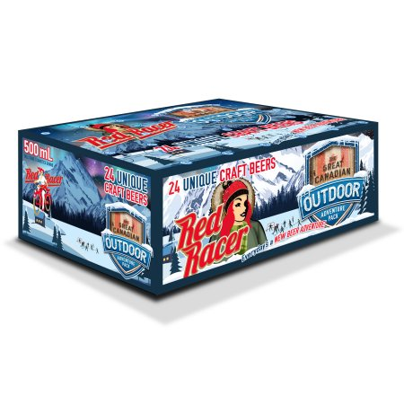Central City Brewers Releases Red Racer Great Canadian Outdoor Adventure Pack