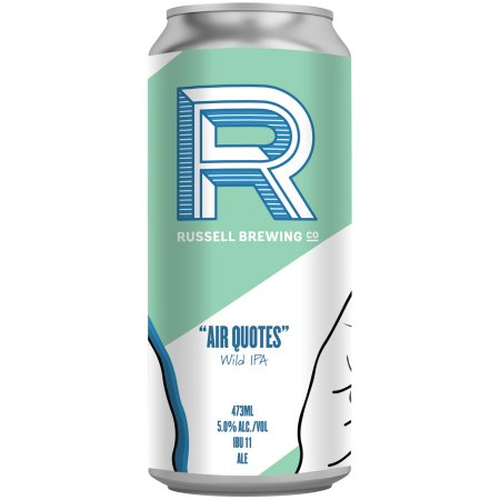"""Russell Brewing Releasing """"Air Quotes"""" Wild IPA"""