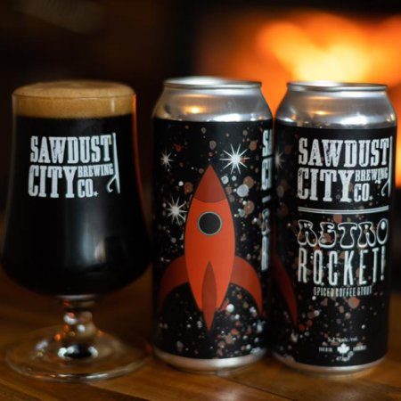 Sawdust City Brewing Releasing Retro Rocket Spiced Coffee Stout