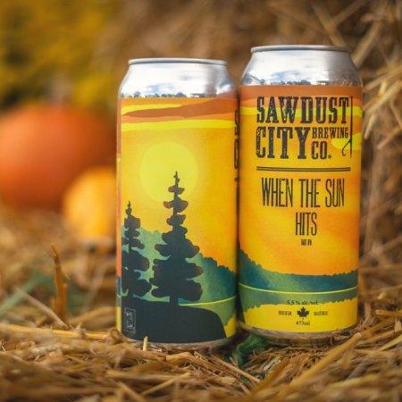 Sawdust City Brewing Releasing When the Sun Hits Tart IPA
