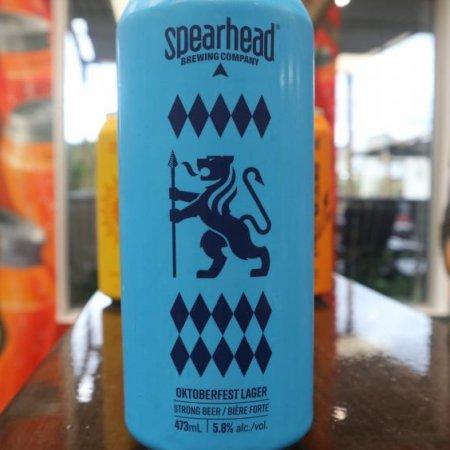 Spearhead Brewing Brings Back Oktoberfest Lager