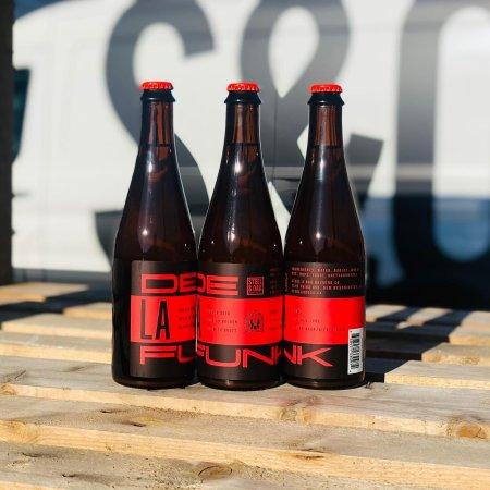 Steel & Oak Brewing and House of Funk Brewing Release De La Funk Belgian Golden Ale