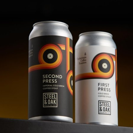 Steel & Oak Brewing Releases First Press and Second Press Coffee Stouts