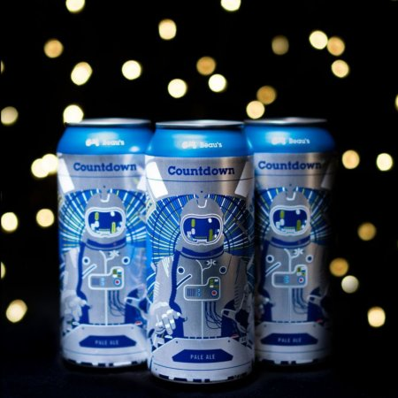 Beau's Brewing Releases Countdown Pale Ale and The Beau's Mix Winter 2019