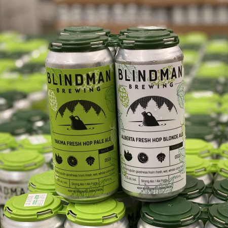 Blindman Brewing Releases Fresh Hop Ale Mixed Pack
