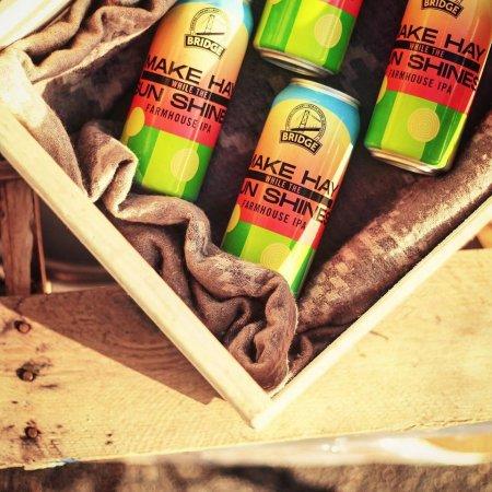 Bridge Brewing Releases Make Hay While the Sun Shines Farmhouse IPA