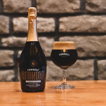 Cowbell Brewing Releases Reunion 1st Solera Vintage