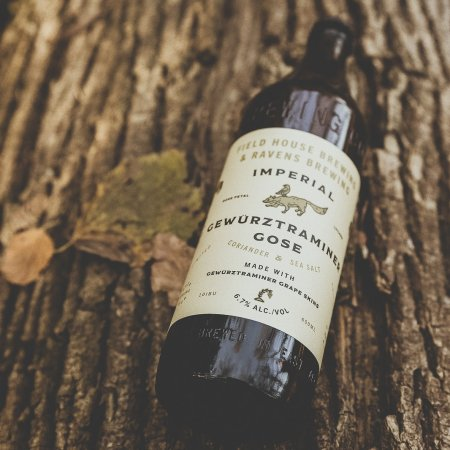 Field House Brewing and Ravens Brewing Release Imperial Gewürztraminer Gose