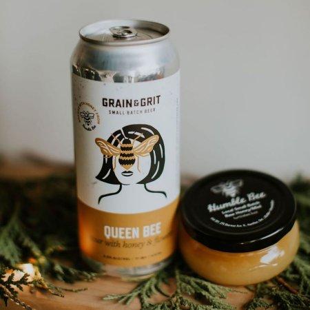Grain & Grit Beer Co. Brings Back Queen Bee Sour Ale