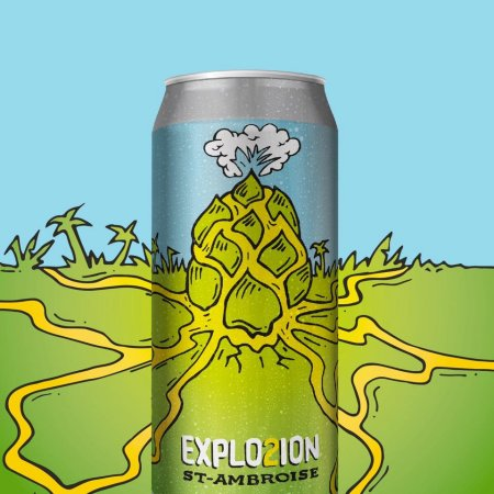 McAuslan Brewing Releases St-Ambroise EXPLO2ION NEIPA
