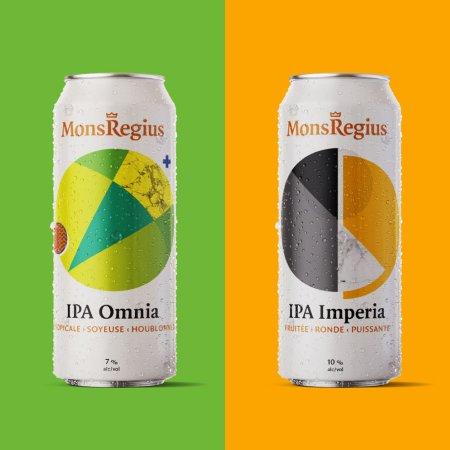 MonsRegius Bières Artisanales Releases IPA Omnia and IPA Imperia
