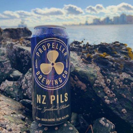 Propeller Brewing Releases NZ Pils