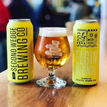 The Second Wedge Brewing Releases Cans of Elgin Blonde and Brings Back Spice Factory Winter Warmer