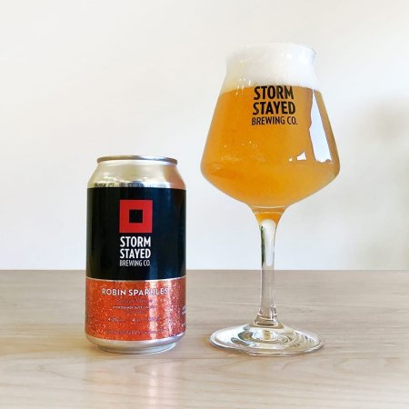 Storm Stayed Brewing Releases Robin Sparkles Berliner Weisse and Nebulose Amarillo & Galaxy NEIPA