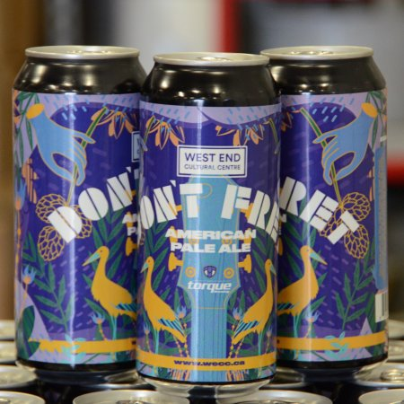 Torque Brewing Releases Don't Fret APA for West End Cultural Centre
