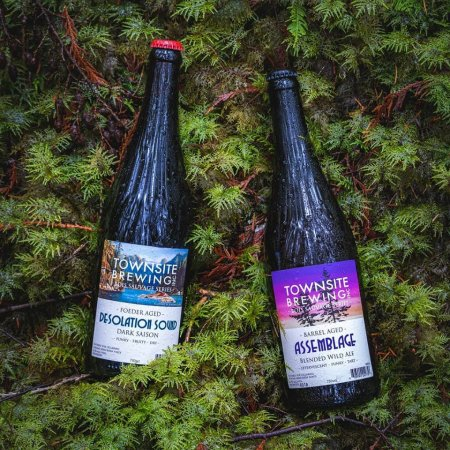 Townsite Brewing Bois Sauvage Series Continues with Assemblage 2019 and Desolation Sound Dark Saison
