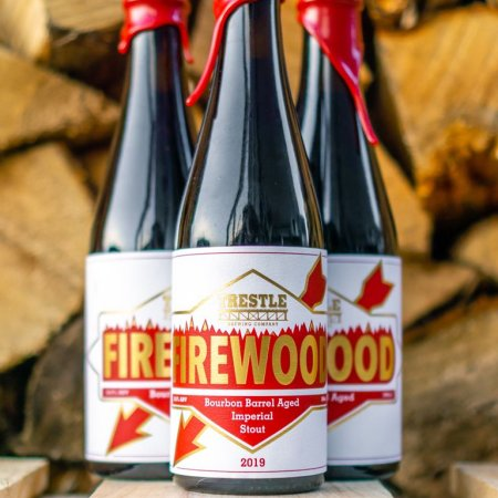 Trestle Brewing Releases Firewood Bourbon Barrel Aged Imperial Stout