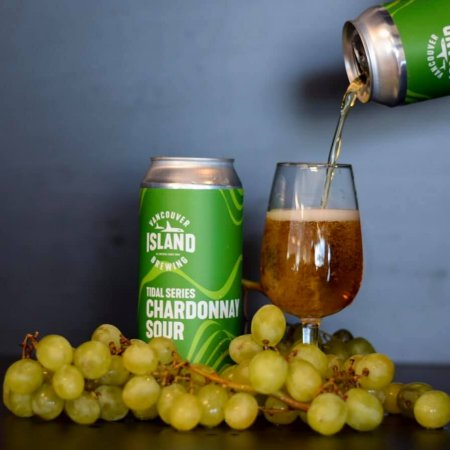 Vancouver Island Brewing Tidal Series Continues with Chardonnay Sour