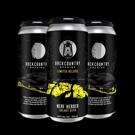 Backcountry Brewing Releases Nerf Herder⁠ Galaxy DIPA