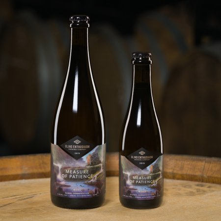 Blind Enthusiasm Brewing Releasing Measure of Patience Mixed Fermentation Ale