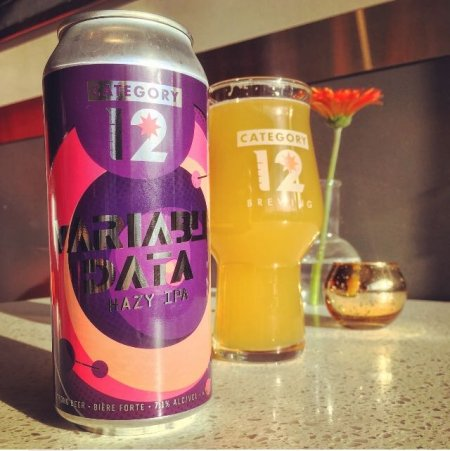 Category 12 Brewing Data Series Continues with Variable Data Hazy IPA