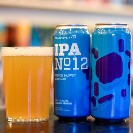Collective Arts Brewing Releases IPA No. 12