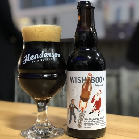 Henderson Brewing Continues Ides Series with Wishbook Belgian Ale