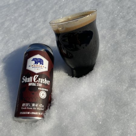 Market Brewing and Redline Brewhouse Release Skull Crusher Imperial Stout
