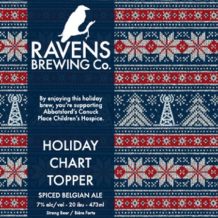 Ravens Brewing and Country 107.1 & Star 98.3 Release Holiday Chart Topper Spiced Belgian Ale