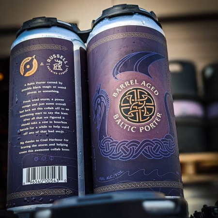 Russell Brewing and Coal Harbour Brewing Releasing Barrel Aged Baltic Porter