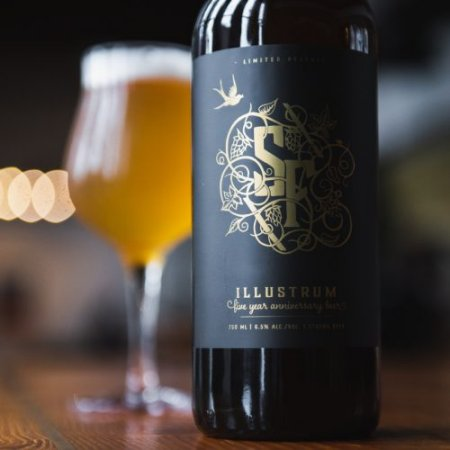 Strange Fellows Brewing Releasing Illustrum Barrel Aged Brut IPA