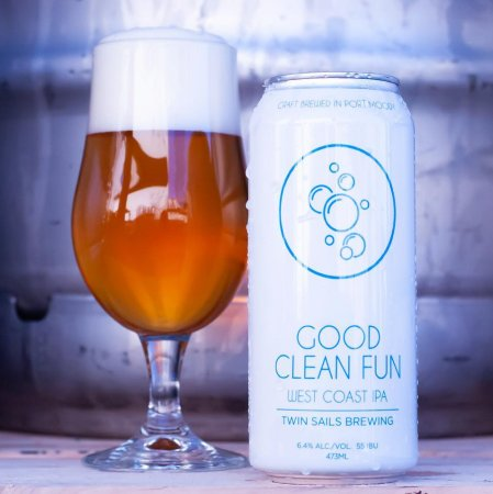 Twin Sails Brewing Adds Good Clean Fun West Coast IPA to Core Line-Up