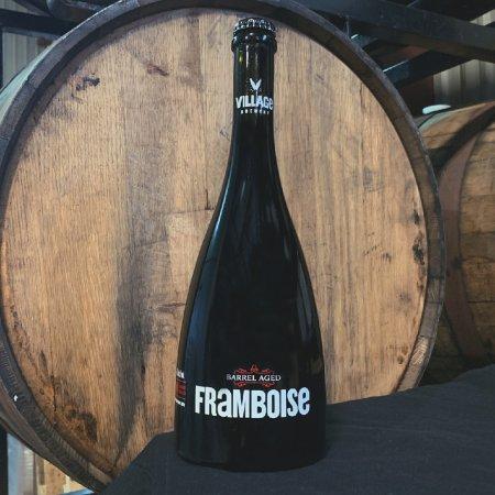 Village Brewery Releases Village Framboise Barrel Aged Dark Ale