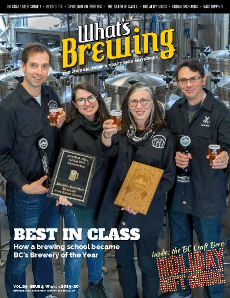 What's Brewing Winter 2019 Issue Now Available