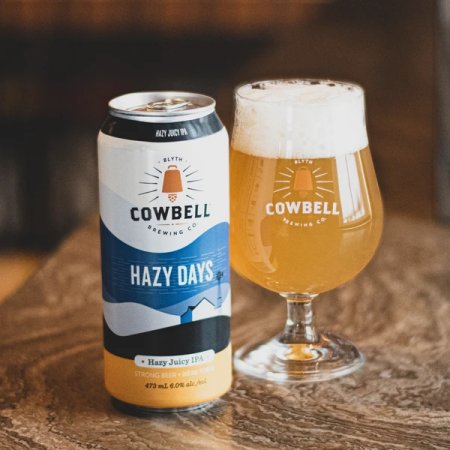 Cowbell Brewing Releases Hazy Days IPA