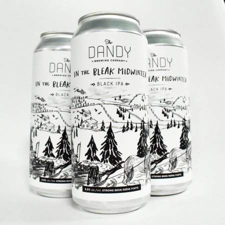 Dandy Brewing Bringing Back Don't Have To Be Cool Plum Sour and In The Bleak Midwinter Black IPA