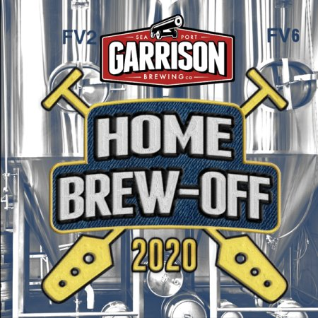 Garrison Brewing Announces Details for Home Brew-Off 2020