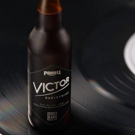 Steel & Oak Brewing and Powell Brewery Release Victor Barleywine