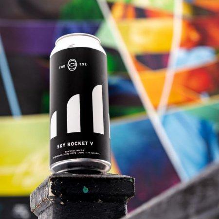 The Establishment Brewing Company Releasing Sky Rocket V NEIPA