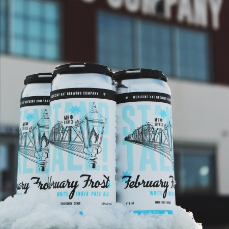 Medicine Hat Brewing Releasing February Frost White IPA