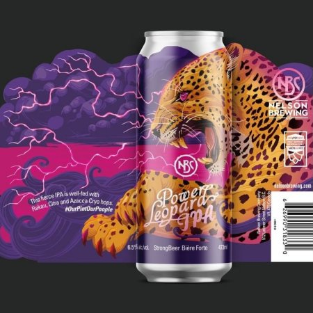 Nelson Brewing Releases Power Leopard IPA