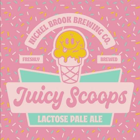 Nickel Brook Brewing Funk Lab Series Continues with Juicy Scoops No. 1 Lactose Pale Ale