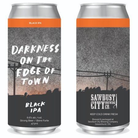 Sawdust City Brewing Releasing Darkness on the Edge of Town Black IPA