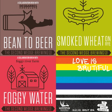 The Second Wedge Brewing Announces Seasonal Releases for February