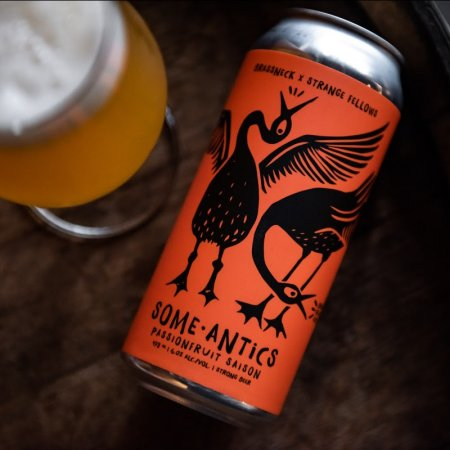 Strange Fellows Brewing and Brassneck Brewery Releasing Some-Antics Passionfruit Saison