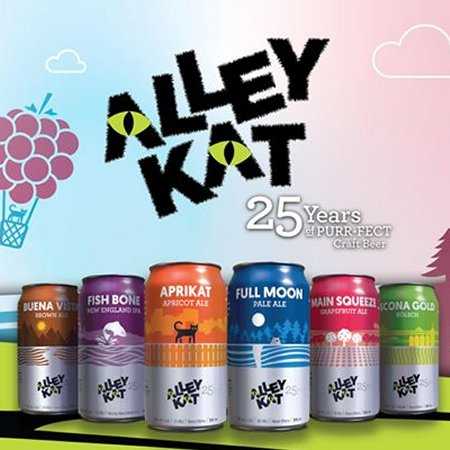 Alley Kat Brewing Moving From Bottles to Cans