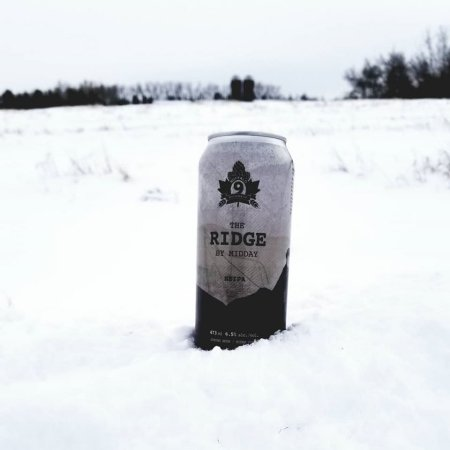 Buffalo 9 Brewing Launches in Calgary with The Ridge By Midday NEIPA