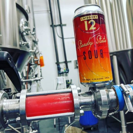 Category 12 Brewing Releasing Steady State Tangerine & Cassis Sour